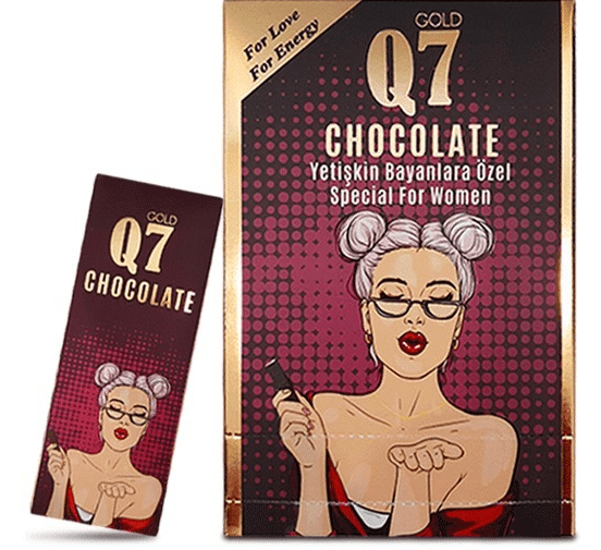 Q7 Chocolate For Women, 12 pieces